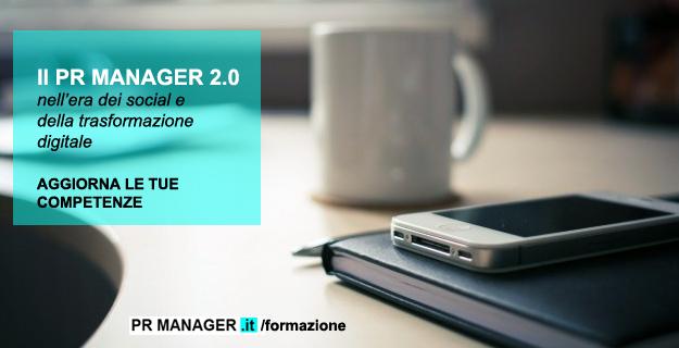 Corso PR Manager nell'era dei sociale e della trasformazione digitale - Francesca Anzalone