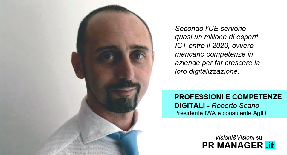 Roberto Scano - competenze digitali intervista PR Manager
