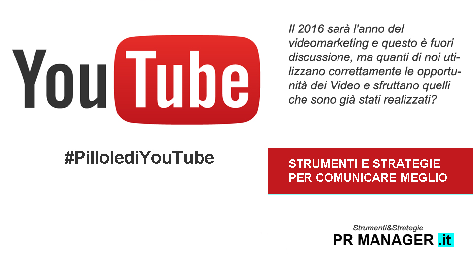 Pillole di Youtube - di Francesca Anzalone